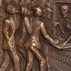 Lusitania Medaille - Karl Goetz