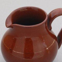 Roomkannetje - bruin aardewerk